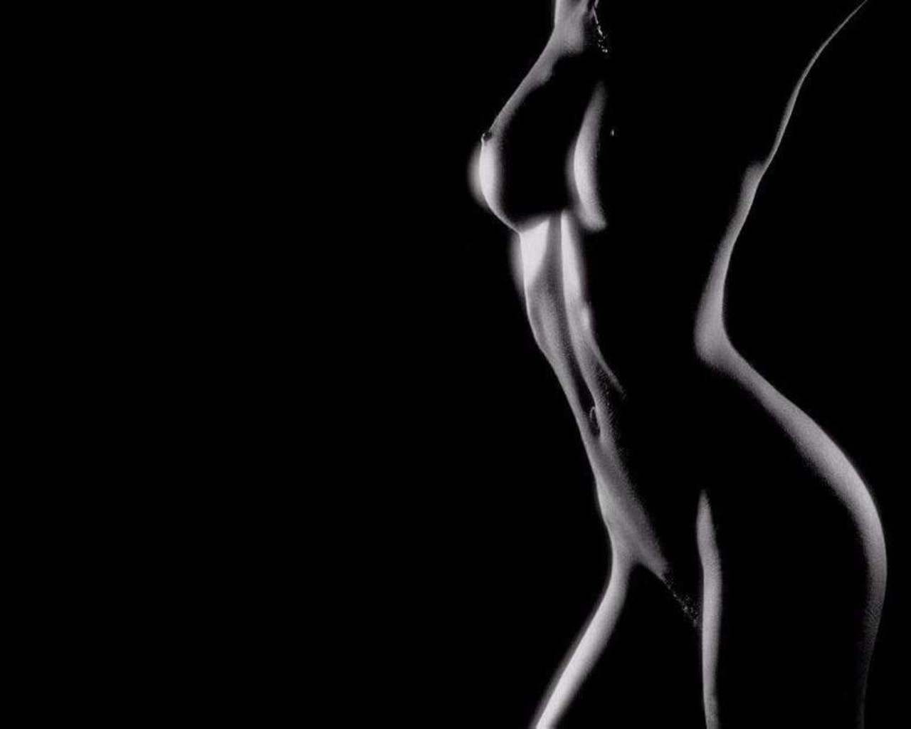 Эротический силуэт девушке 10 фотография
